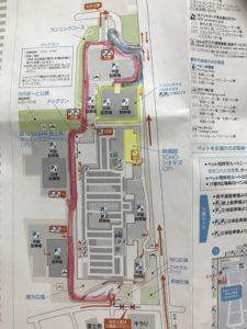 ららぽーと富士見のマップ