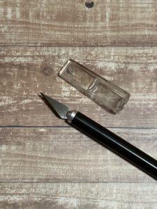 ダイソーのデザインナイフ